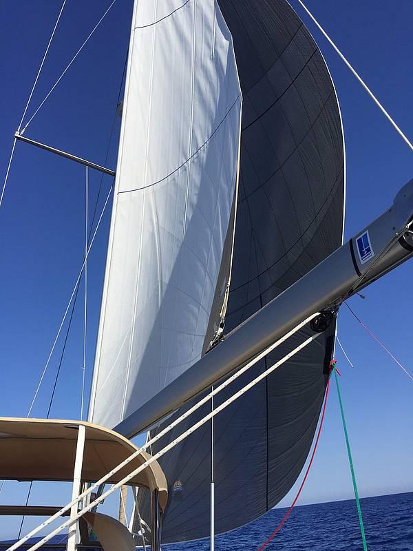 Segel der Sunbeam 42.1 - Sunbeam Yachts