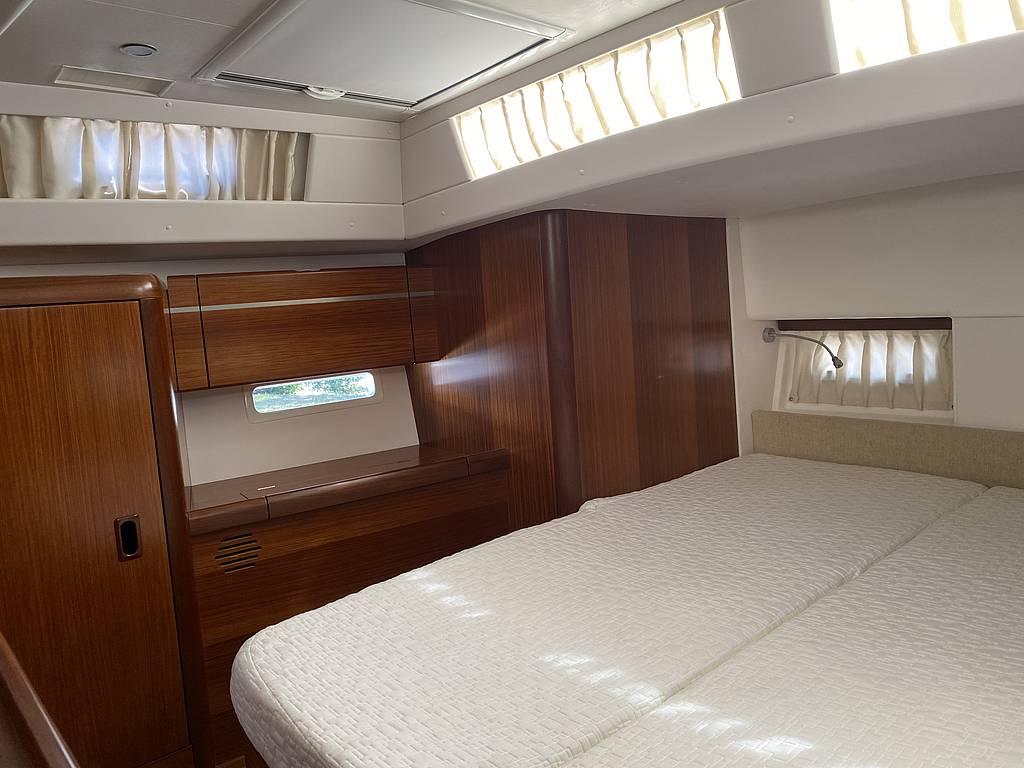 Schlafzimmer bei der Sunbeam 42.1