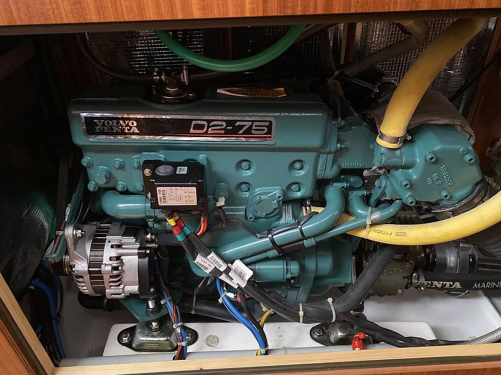 Motor der Sunbeam 42.1