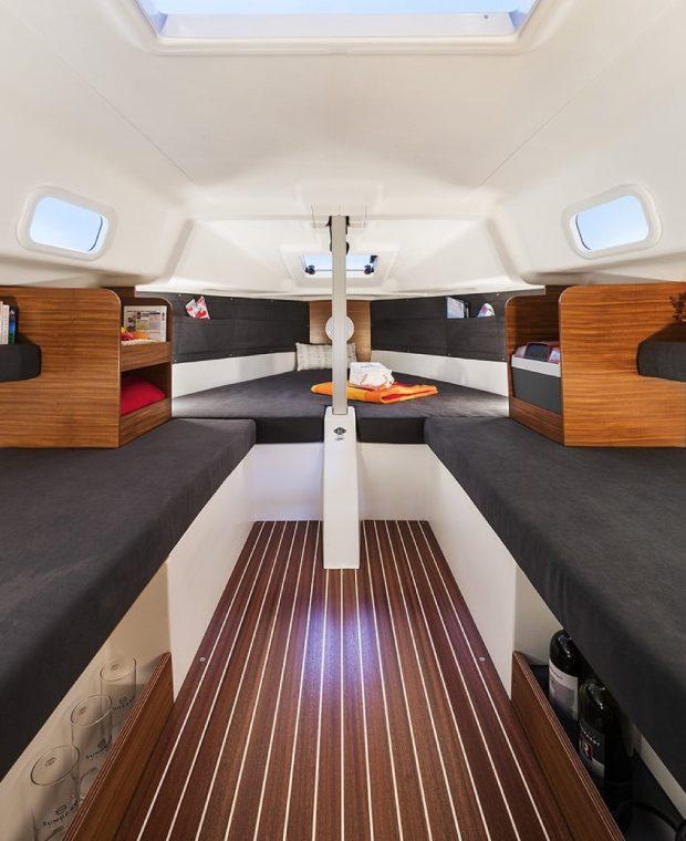Innenraum der Sunbeam 22.1 | Sunbeam Yachts