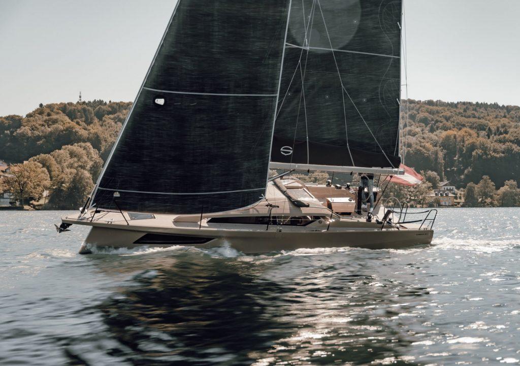Segelyacht Sunbeam 32.1 in Action